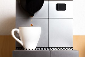 Kaffeepad Maschine