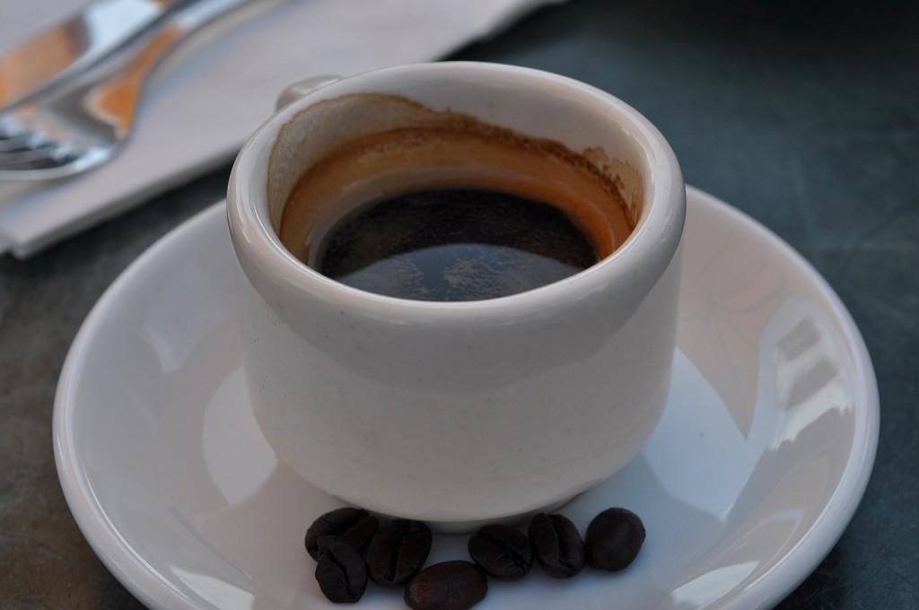 frischgebrühter Espresso