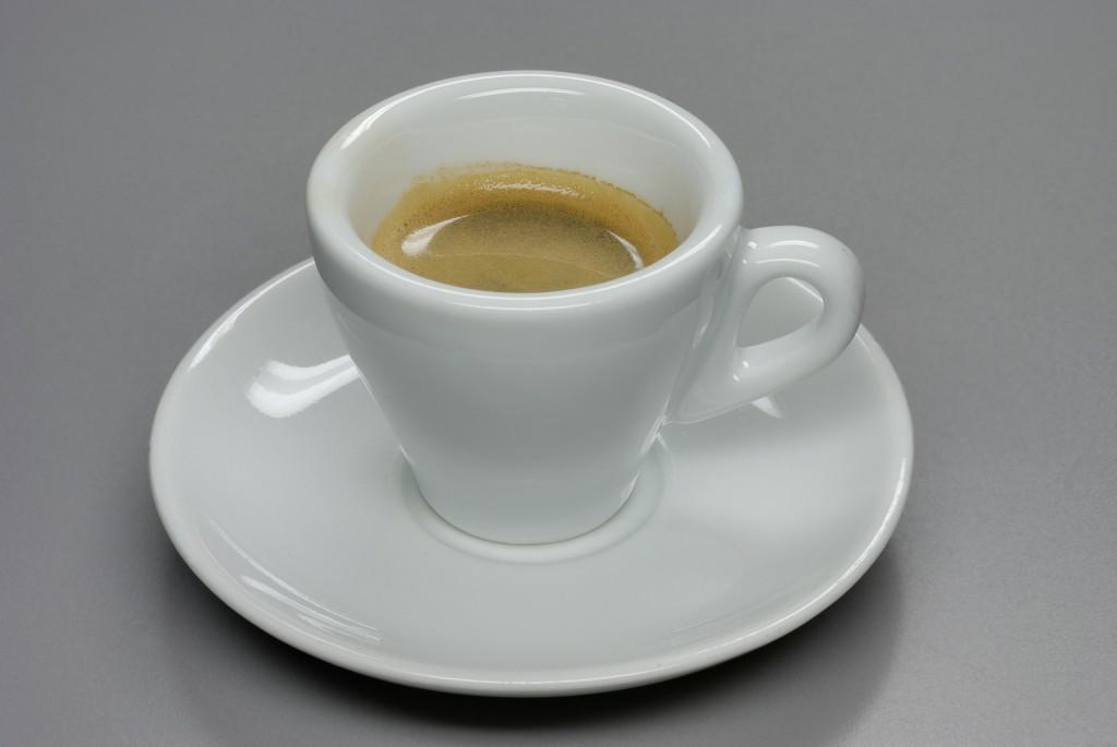 Espresso trinkbereit